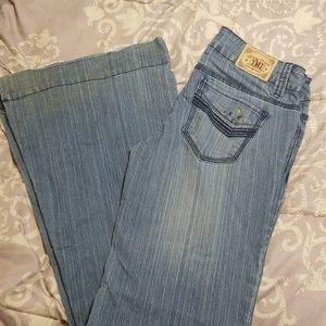 YMI flared leg jeans